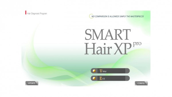Главная страница программы Smart Hair XPPro