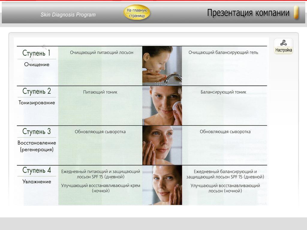 Презентация в программе SmartHairXPPro