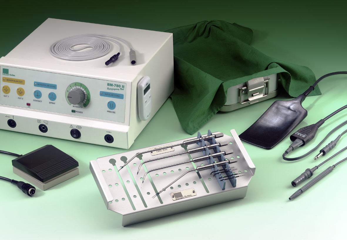 Аппарат радиохирургический для резекции и коагуляции сосудов Sutter BM 780 II