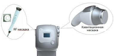 Аппарат для ультразвуковой кавитации с биполярным RF лифтингом Luna II